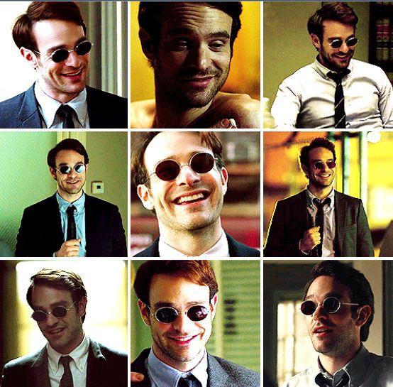 Matt Murdock and Smiles