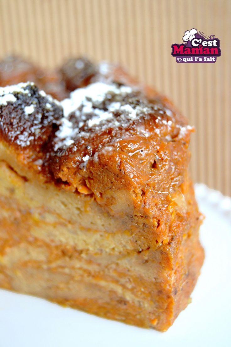 Anisette Toast Pudding Cake