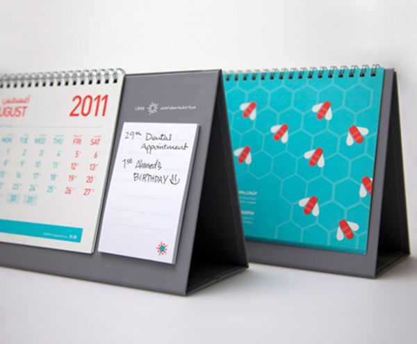 LMRA calendar 2011 by Boxon Brand Visionaries