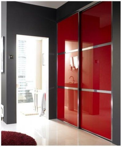 These Modern Sliding Wardrobe Doors Are The Ultimate In Door Designs Red Bedrooms Rather Racey So Use Places