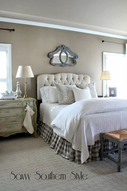 Savvy Southern Style Winter White Bedroom Bedrooms Pinterest Master Bedrooms Winter