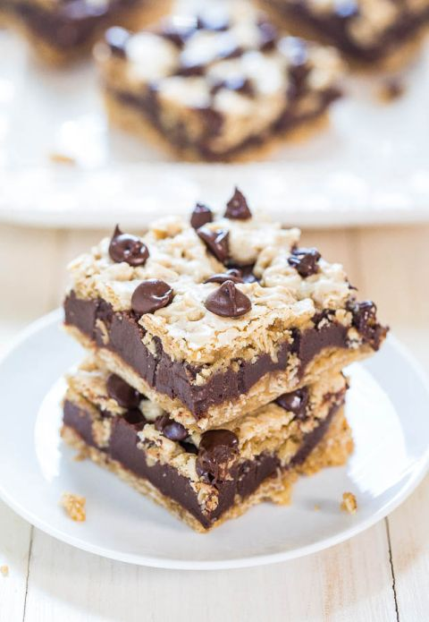 Big Chewy Oatmeal Chocolate Chip Cookies