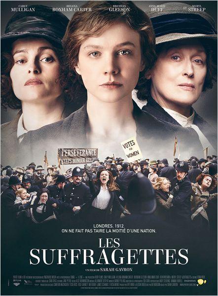 "♥♥♥♥ ""Les Suffragettes"", un drame historique de Sarah Gavron avec Helena Bonham Carter, Meryl Streep... (11/2015)"