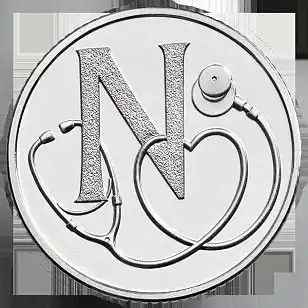 N - National Health Service 10 pence