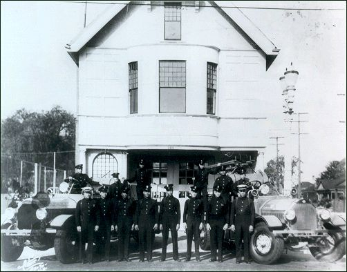 History Of The Black Firemen On The Los Angeles Fire