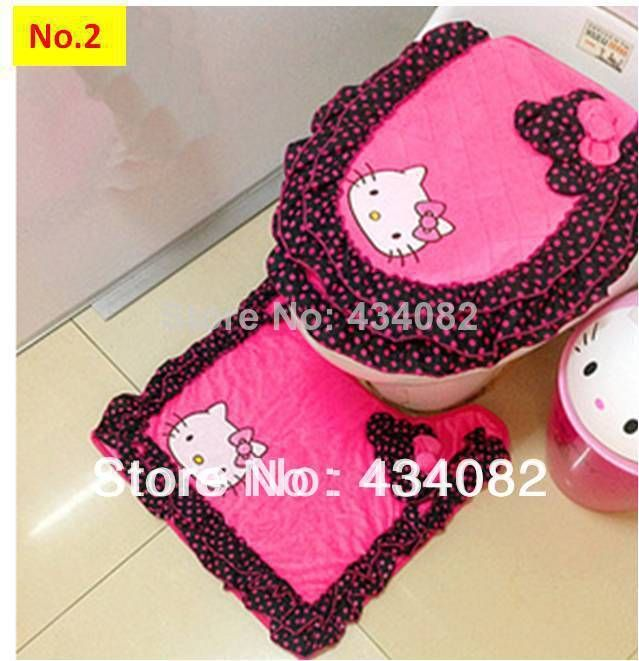 Juegos De Baño Kitty: De Hello Kitty en Pinterest
