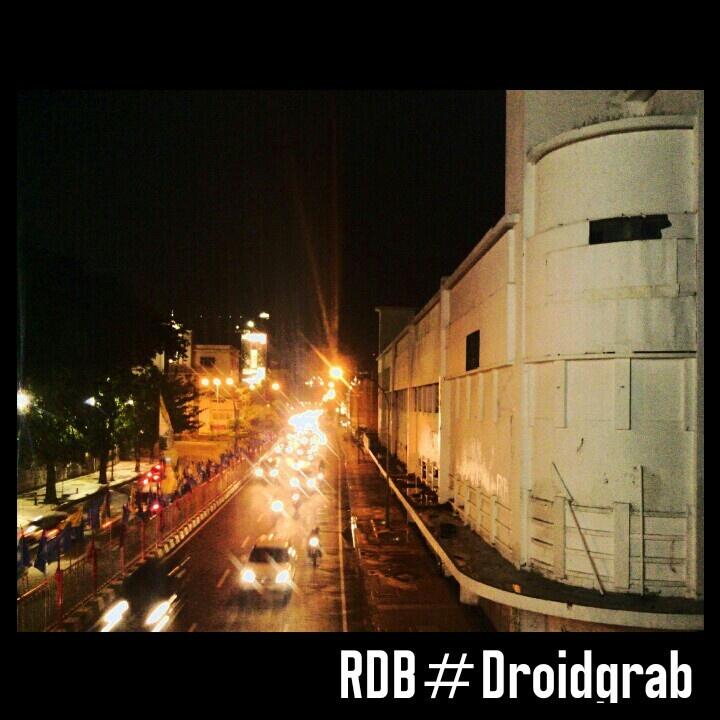 Surabaya City at night ( Tunjungan Street Corner )