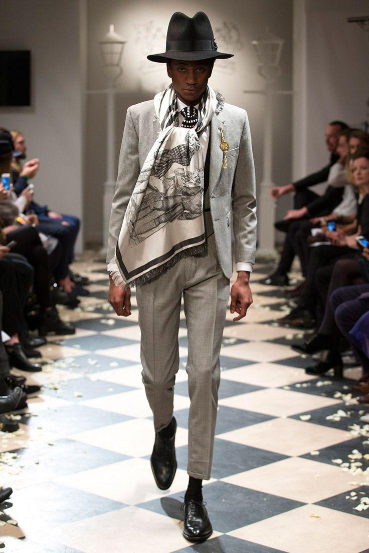 [Joshua Kane]: extravagant neck wear, pocket watches