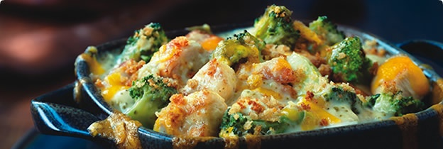 Easy Chicken and Broccoli Divan