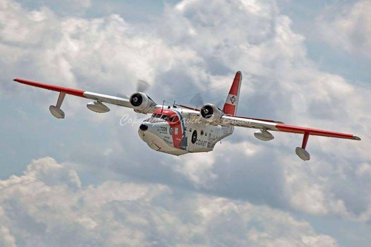 Grumman HU-16E Albatross (#7226) Coast Guard Air Station San Fransisco, Search and Rescue Amphibian Aircraft
