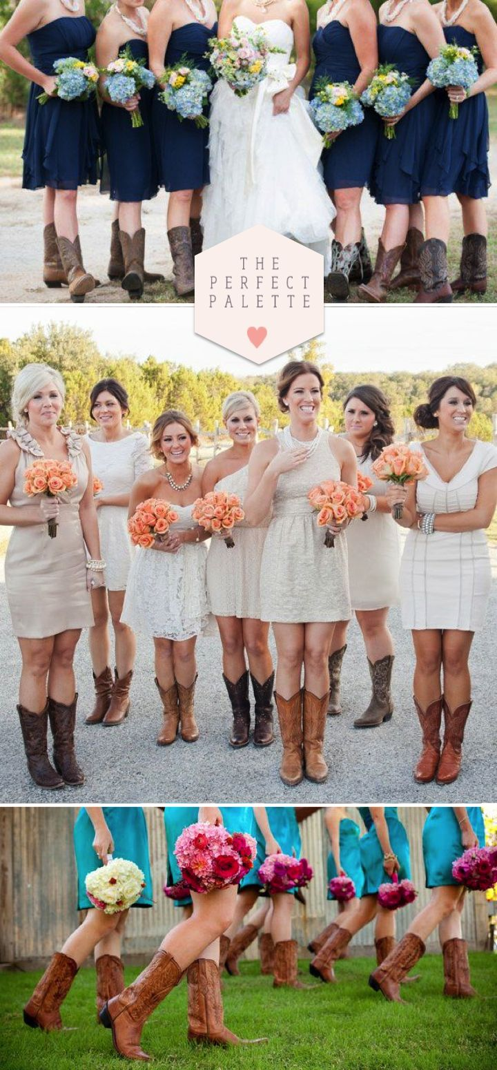 Style Trend: Bridesmaids in Boots!