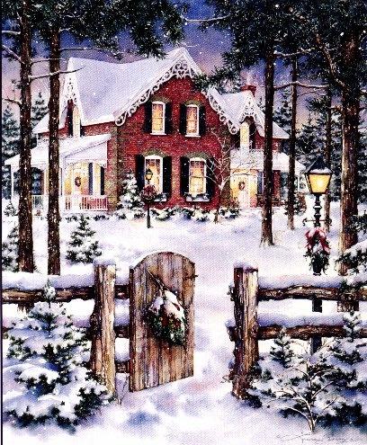 Winter Pines ~ Laura Berry
