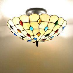 Online Shop Тиффани-стиль потолочный светильник теплый и сладкий спальня свет гостиной светильник, Ysl-c0102, Бесплатная доставка|Aliexpress Mobile