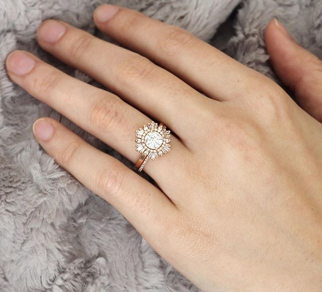 Pin for Later: 41 Real-Girl Engagement Rings You'll Obsess Over This Season Detailed Design