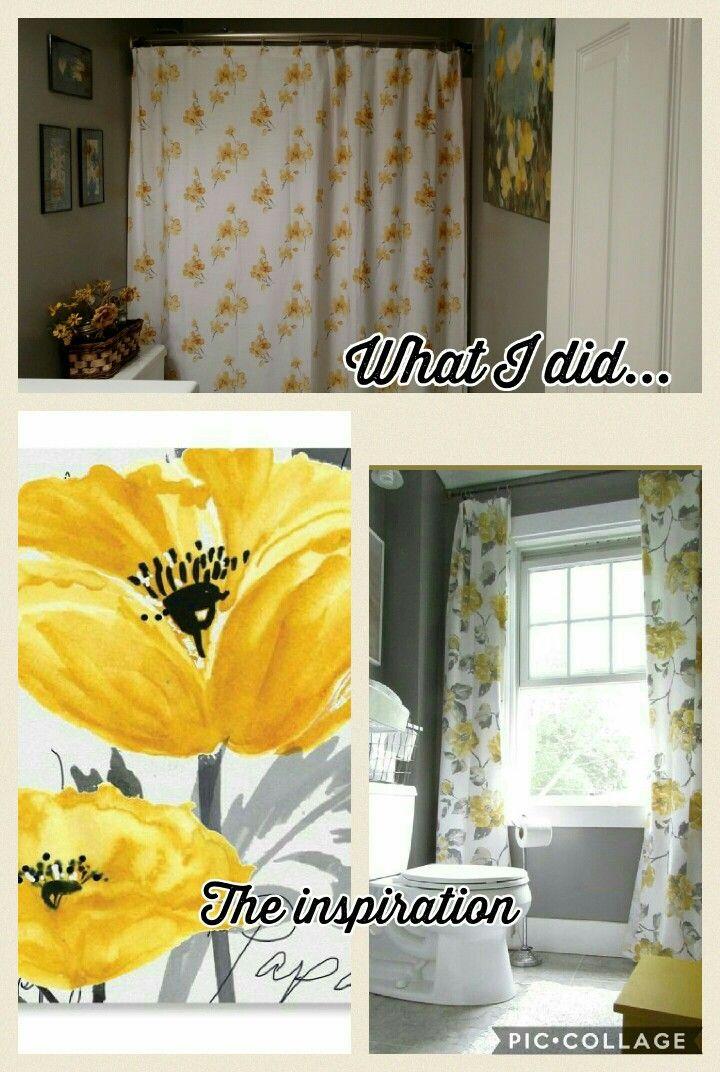 Gray and yellow bath