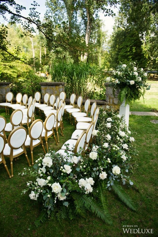 best outdoor wedding venues perth%0A WedLuxe  u     A Lush  GreeneryFilled Glam Shoot Wedding Inspiration    Photography By  Outdoor CeremonyOutdoor