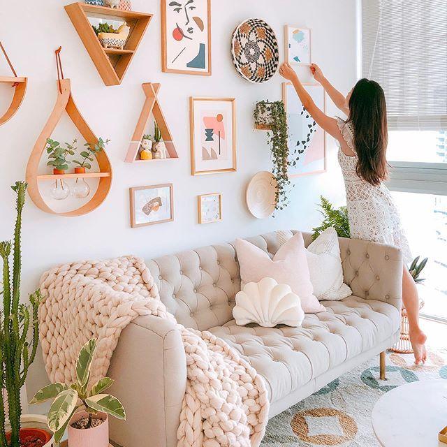 Pin On Stylish Wall Decor Cute living room wall decor