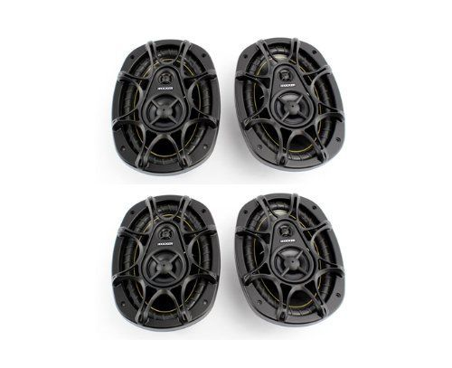 4 New KICKER DS693 6x9 560W 3Way Car Audio Coaxial Speakers Stereo 11DS693 -- Continue to the product at the image link.