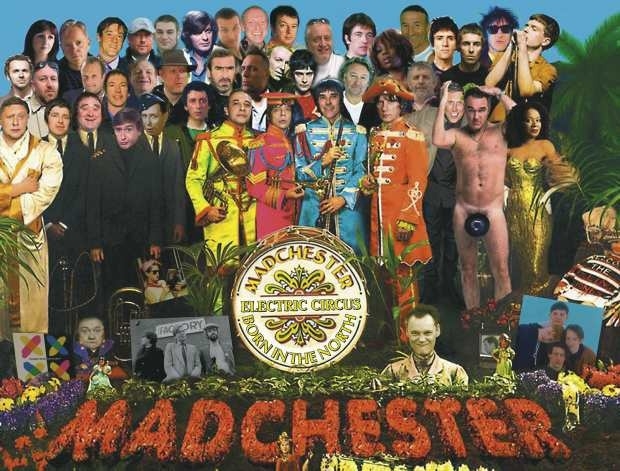 Manchester's finest star on Sergeant Pepper album cover spoof | Manchester Evening News - menmedia.co.uk