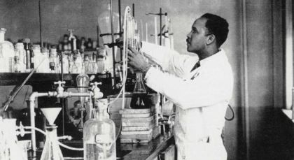 Little Known Black History Fact: Dr. Percy Julian: Dr. Percy Julian was a pioneering chemist and scientist who developed a process that aided in the production of medicine from plants by way of chemical synthesis. Of Dr. Julian's many achievements, chief among them is becoming the first African-American scientist inducted into the National Academy of Sciences and just the second overall African-American of any field to do so. Click to read more