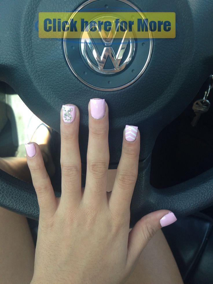 Brustkrebs-Bewusstseinsnägel #Brustkrebs #Rosa #Oktober #Nägel #Quadrat – Na …   – Nails