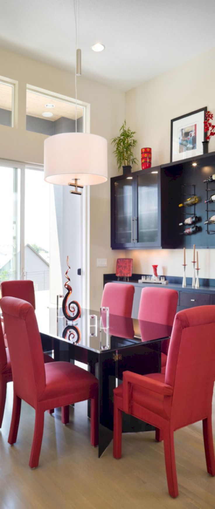 Red accent chairs - 53 Modern Red Accent Chair Dining Ideas