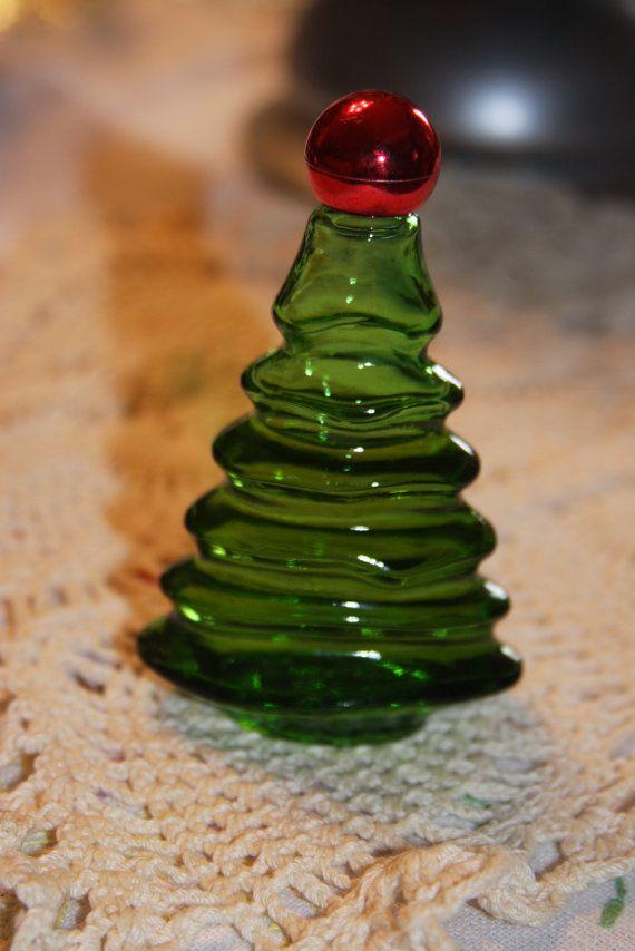 Vintage Avon Cologne Bottle Christmas Tree