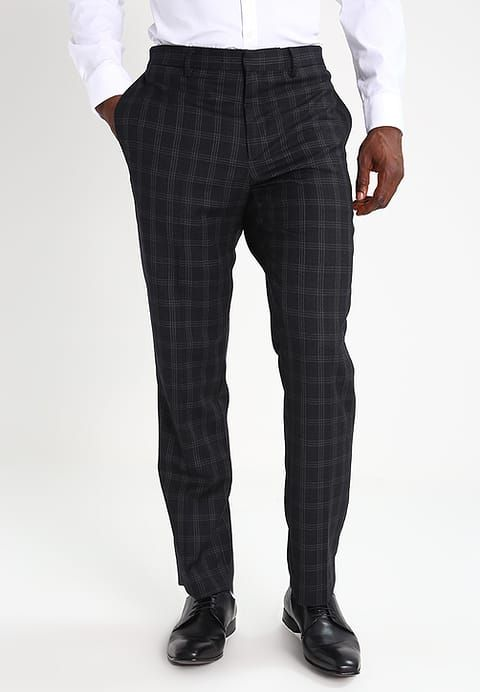 Banana Republic Pantalon de costume - black - ZALANDO.FR