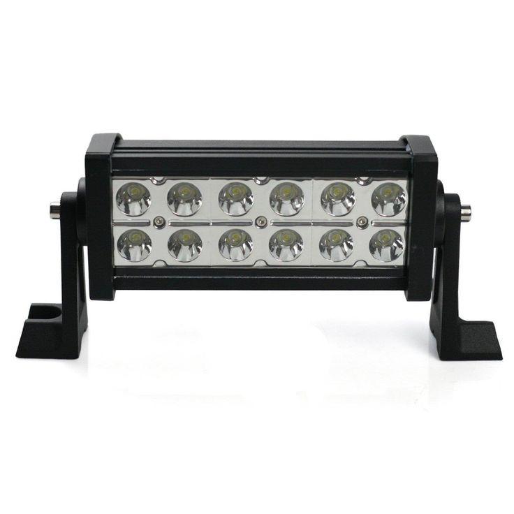 36W Off Road LED Work Light Bar For SUV Truck Wagon Car