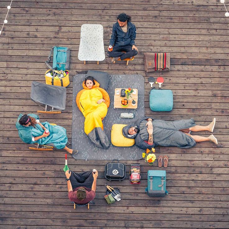 Loving this idea for urban camping from REI: Rooftops, friends and fresh gear. Check out the new evrgrn collection at REI.com.