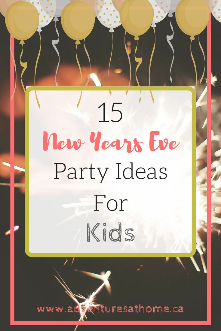 I've always loved New Year's Eve. I remember being a kid and drinking orange pop from champagne flutes, wearing party hats and celebrati...