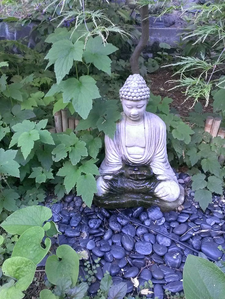 Meditation Garden at our new place.                                                                                                                                                                                 More