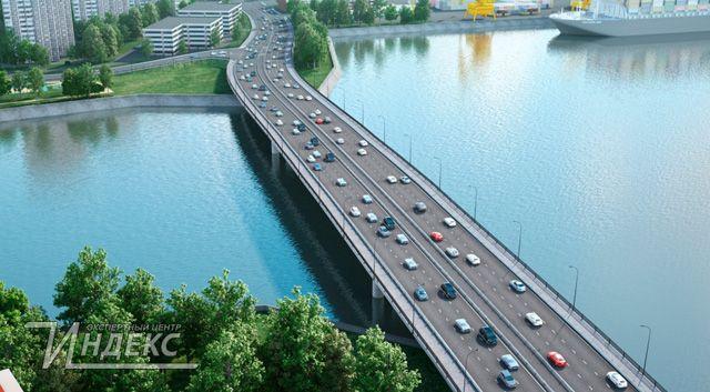 Новый мост через Москву-реку откроют в 2020 году
