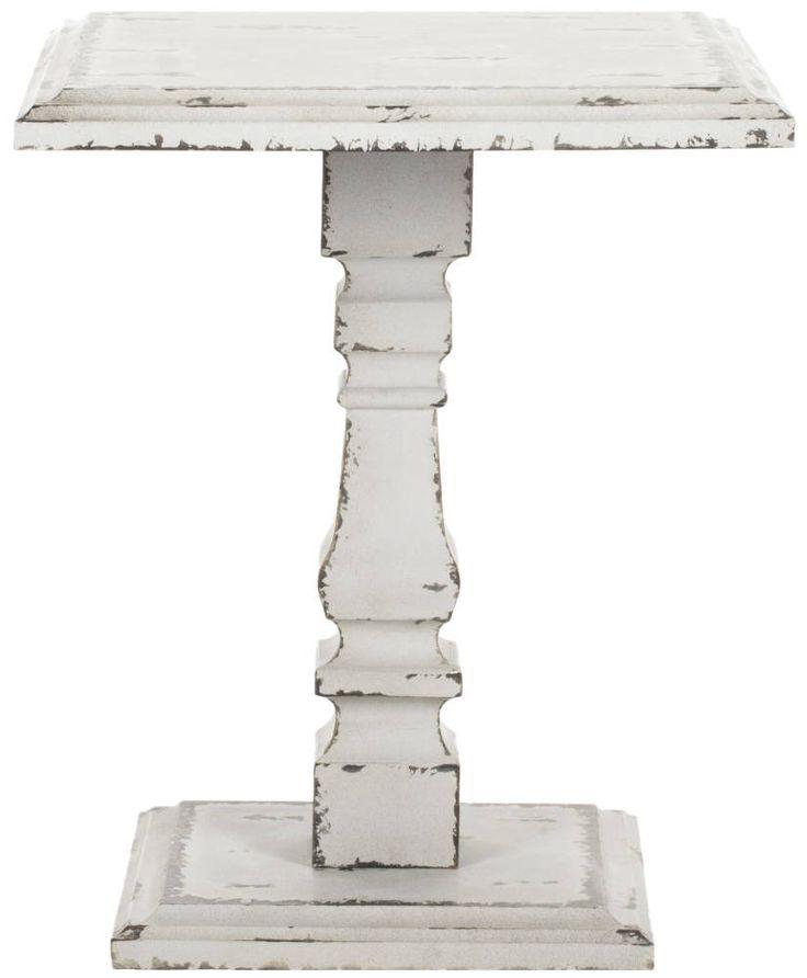 Hunter Pedestal Side Table