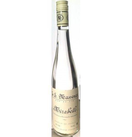 Massenez Mirabelle Eau-de-Vie (Cherry Plum Spirit) 40% 700ml