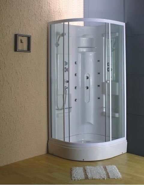 10 best rectangle steam hydro showers images on - What uses more water bath or shower ...