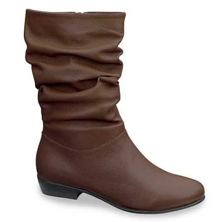 Valley Lane- Lynn at www.amerimark.com Genuine leather mid-calf boot