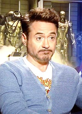 Robert Downey Jr. - control your face! (or, on second thought, don't...)