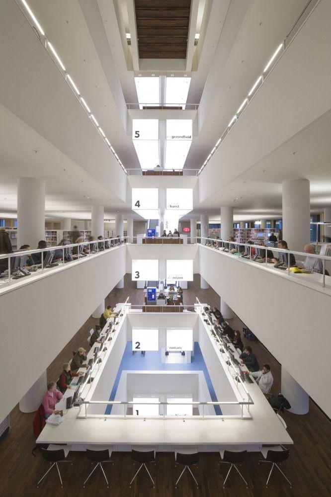 Public Library Amsterdam / Jo Coenen & Co Architekten