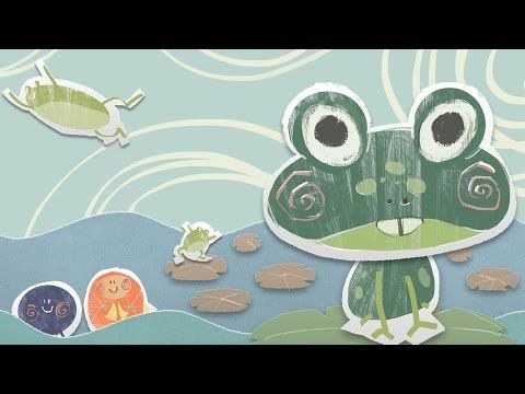 The Frog and Fish storybook - the interactive nursery rhyme for children - YouTube