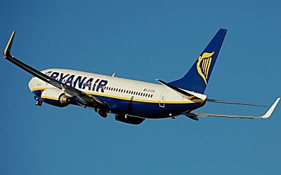Ryanair venda passagens aéreas na Europa por € 9,99