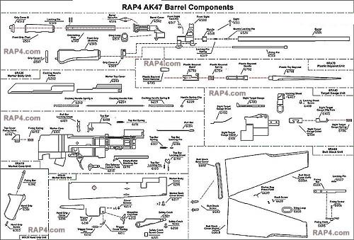 Image result for ak47 full auto parts kit | G | Diagram, Car parts