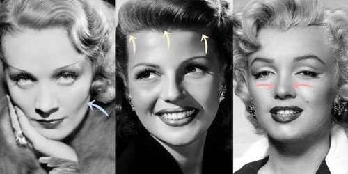 Как старые голливудские звезды меняли лица без пластической хирургии