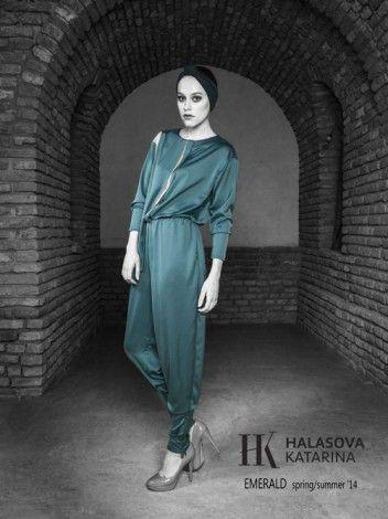 Katarina Halasova Fashion Design / Collections / EMERALD s/s 14