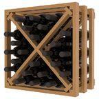 Wine Storage Lattice Stemware Cube in Pine - Traditional - Wine Racks - salt lake city - by Wine Racks America
