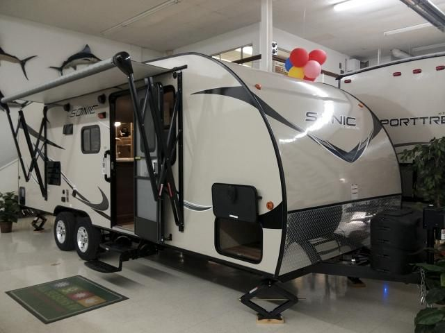 2016 Sonic 220vbh Bunkhouse Travel Trailer Campers And