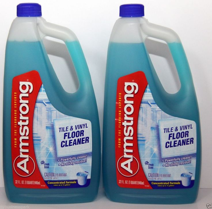 Lovely 2 Armstrong Tile U0026 Vinyl Floor Cleaner Concentrated Formula Fresh Scent  Powerful