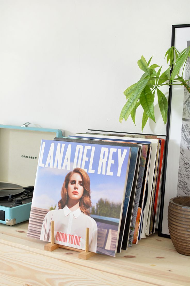 DIY | vinyl record storage /burkatron/ This is exactly what I've been imagining. So pleased to find a tutorial.