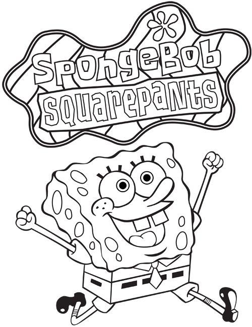 60 best spongebob squarepants colouring pages images on Pinterest ...