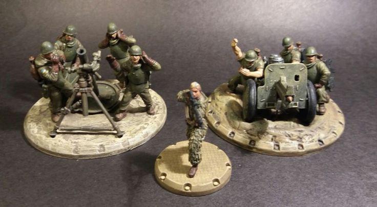 Next Painted Units of my Free Ukraine / Kolejne pomalowane jednostki Wolnej Ukrainy :)